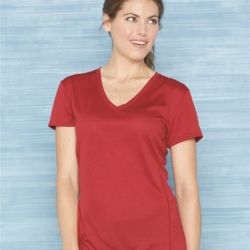 Tech Women's Performance V-Neck T-Shirt Thumbnail